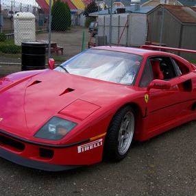 Art of Ferrari at Watkins Glen, September 2010
