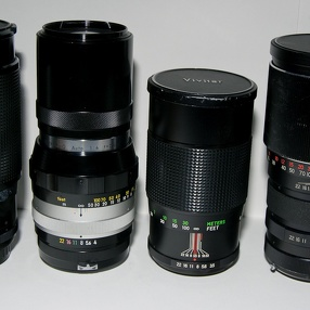 Nikkor lenses on a Pentax