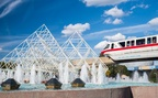 Monorail Red and Imagination Pavilion