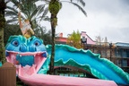 King Triton waterslide at Port Orleans
